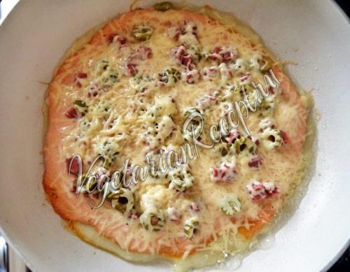 жарим пиццу