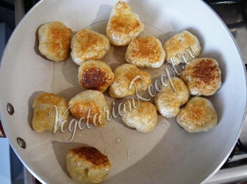 приготовление пончиков из сейтана