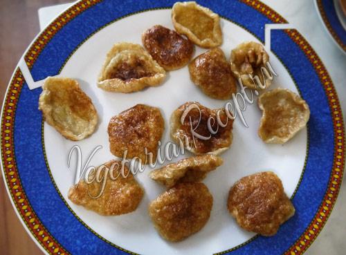 жареные пончики из сейтана