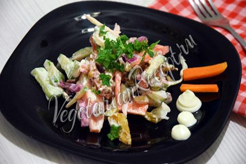 салат радужный