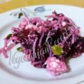 салат из свеклы с творогом и фунчозой