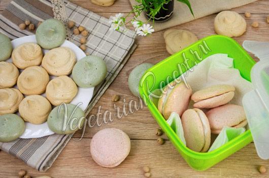 Аквафаба - как хранить безе без яиц