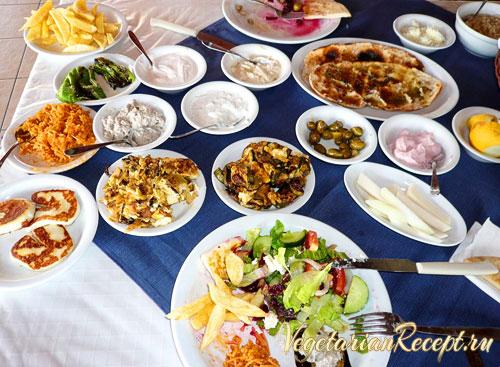 блюда на кипре