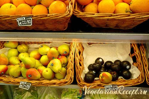 кипр - цены на фрукты
