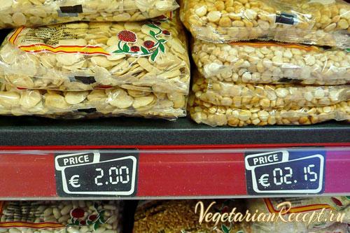сколько стоят продукты в Ларнаке, Кипр