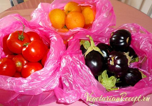 овощи на Кипре в магазине