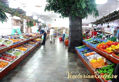 продукты в магазинах Кипра