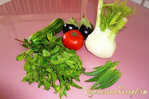 кипрские овощи