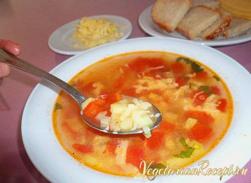 кипрское блюдо - суп с овощами