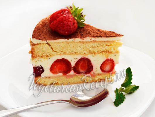 торт Фрезье рецепт