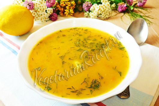 Суп с клецками из манки рецепт