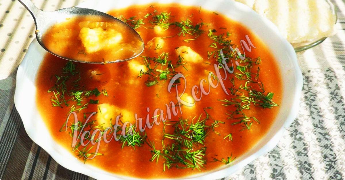 вкусный рецепт суп с клецками рецепт