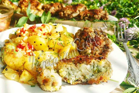 Котлеты из баклажанов - рецепт с фото пошагово, быстро и вкусно