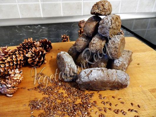 Хлеб из льняной муки без дрожжей
