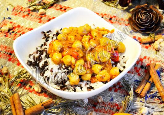 Нут по-мароккански рецепт