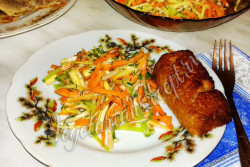 Салат из корнеплодов