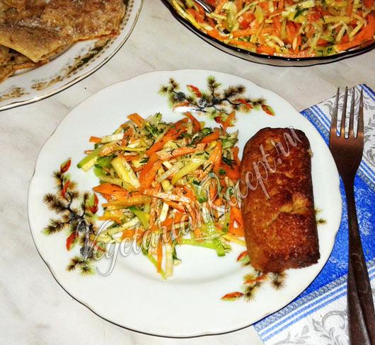 Рецепт салата из корнеплодов