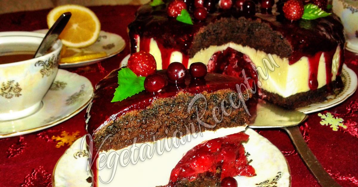 чизкейк творожный печеньем рецепт фото