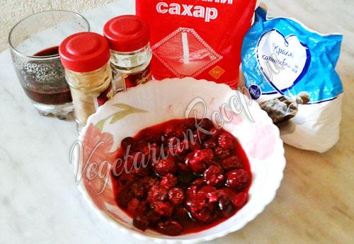 Чизкейк без выпечки с творогом и печеньем - рецепт