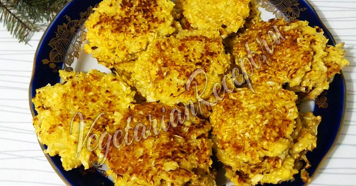 капустные котлеты без муки и манки в духовке рецепт