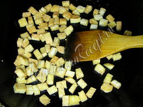 Обжаренный тофу