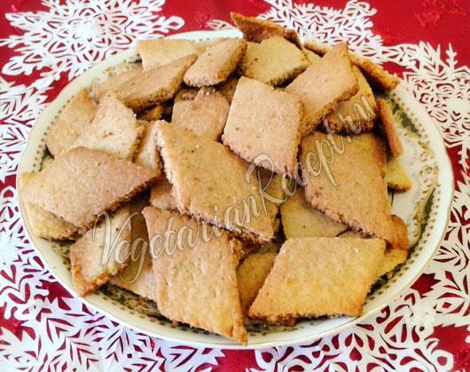 рецепт печенья без сливочного масла в духовке рецепт