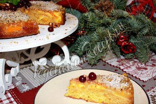Рождественский пирог рецепт