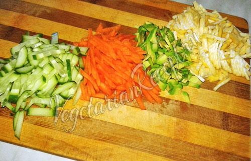 Режем репу и другие овощи