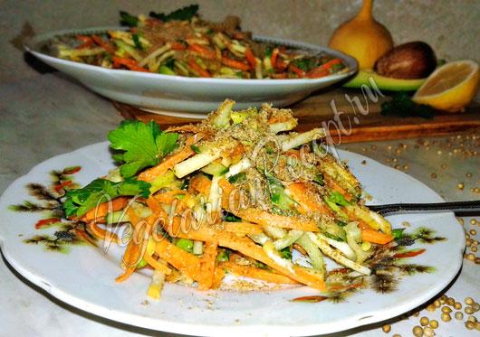 Салат из репы рецепт с фото