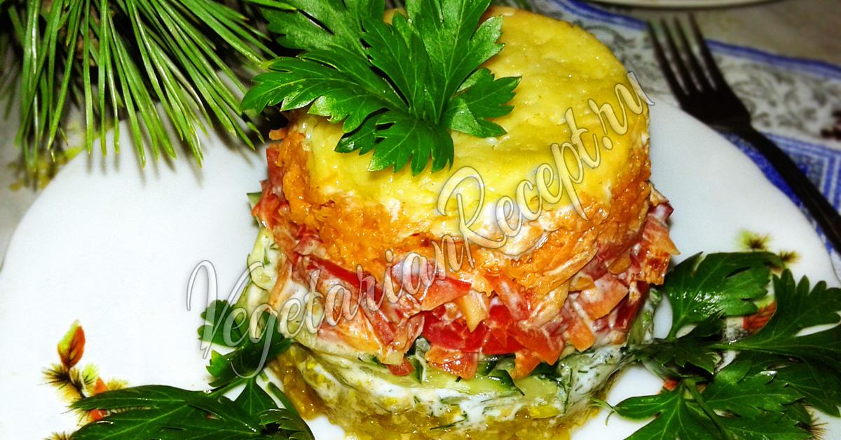 салат из шпротов и риса рецепт