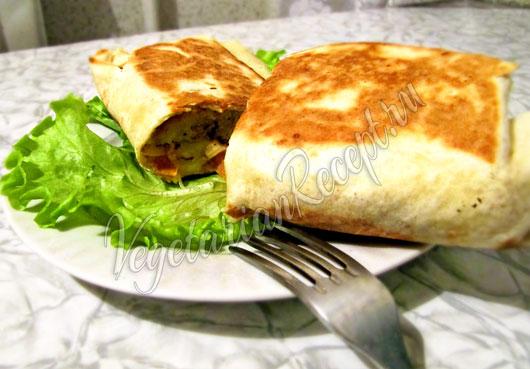 Шаурма без мяса рецепт