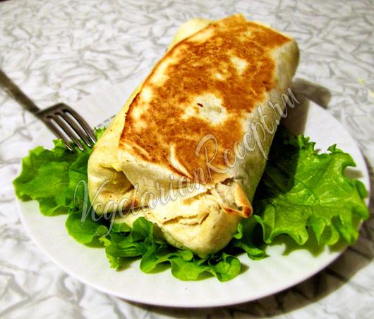 Шаурма без мяса рецепт, как приготовить в домашних условиях 90