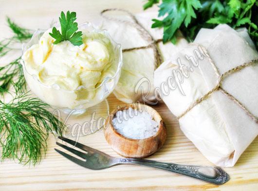 Рецепт сливочное масло в домашних условиях