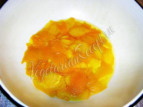 Варим апельсиновую цедру