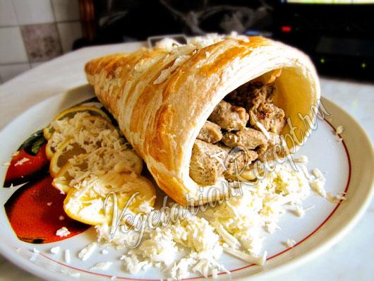 Блюдо из сейтана рецепт