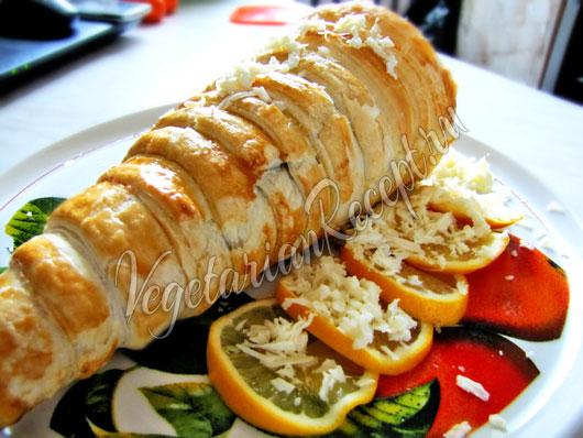 Рог Изобилия - блюдо из сейтана