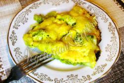 Брокколи в сливочном соусе в духовке
