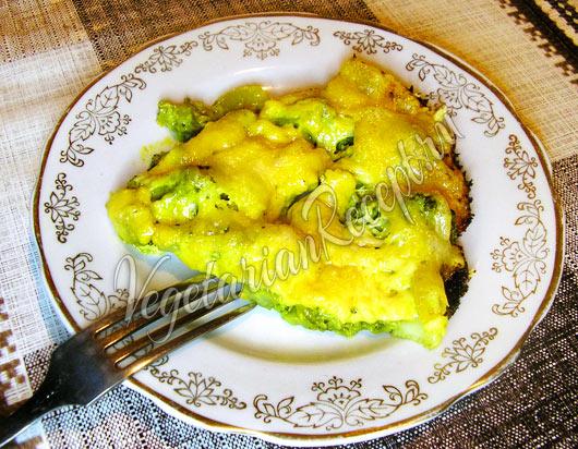 Брокколи запеченные с яйцом в духовке рецепт