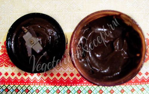 Приготовление конфет - шоколадная масса