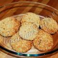 Кунжутное печенье без яиц