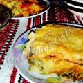 Ленивые вареники с капустой и картошкой