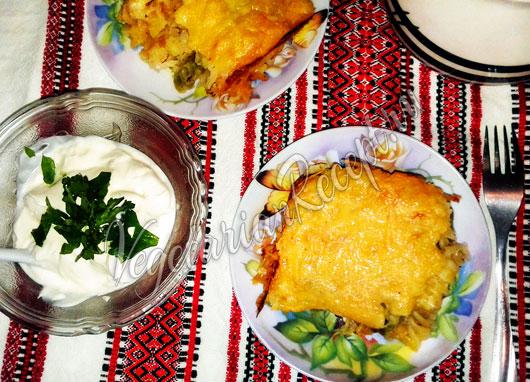Ленивые вареники с капустой рецепт с фото