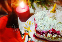Овощной торт с свеклой