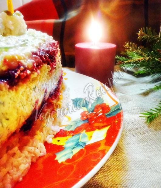 Овощной торт со свеклой рецепт