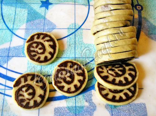 Печенье Улитка - рецепт приготовления