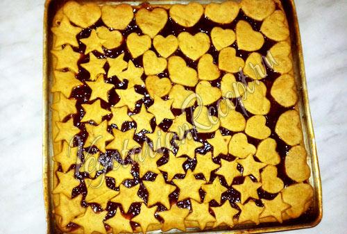 Пирог с вареньем постный рецепт