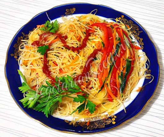 Салат фунчоза рецепт по корейски