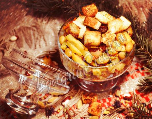Салат с сельдереем и фасолью рецепт