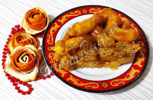 Торт из кукурузных палочек и ирисок рецепт