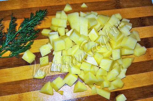 Картофель для чешского супа